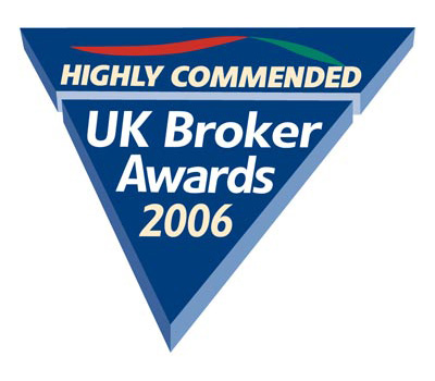 UK Broker Awards Highly Recommended 2006